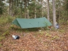 Campsite at Cropsey Pond
