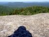 P7044812 My shadow enjoying the Cat Mtn view