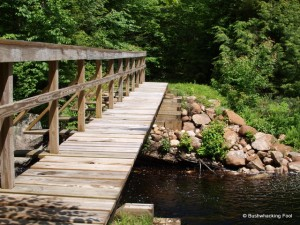 Bridge across the Middle Branch Oswegatchie River