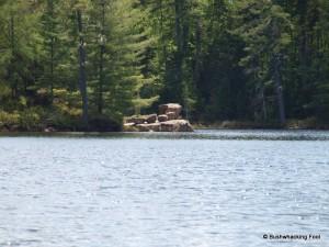 Peninsula boulder formation
